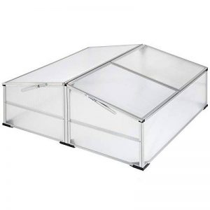 TecTake Serre de jardin en aluminium châssis de couche | matériaux résistants aux intempéries - diverses modèles (modèle 2 | no. 402341) de la marque TecTake image 0 produit