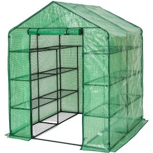 TecTake Serre de jardin PE plastique tente abri - diverses modèles - (143x143x195cm | No. 401860) de la marque TecTake image 0 produit