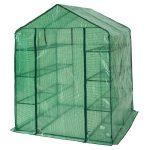 TecTake Serre de jardin PE plastique tente abri - diverses modèles - (143x143x195cm | No. 401860) de la marque TecTake image 1 produit