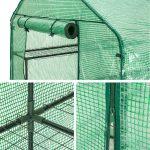 TecTake Serre de jardin PE plastique tente abri - diverses modèles - (143x143x195cm | No. 401860) de la marque TecTake image 3 produit