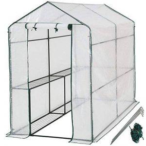 TecTake Serre de jardin PE plastique tente abri - diverses modèles - (186x120x190cm   No. 401861) de la marque TecTake image 0 produit