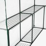 TecTake Serre de jardin PE plastique tente abri - diverses modèles - (186x120x190cm   No. 401861) de la marque TecTake image 3 produit