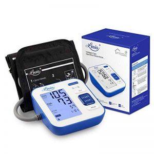 Tensiometre Tensiomètre Electronique Bras, LOVIA Professionnel Tensiomètre Automatique au Bras avec Double Utilisateurs 120 Mémoire Mesure Écran LCD Pour Mesure du Tension Artérielle et Rythme Cardiaque Certifié CE / FDA de la marque LOVIA image 0 produit