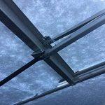 The Original Elloventtm automatique fenêtre de serre Opener, réglable de toit d'aération pour radiateur, fonctionne à l'énergie solaire, par Elloughton serres® de la marque Elloughton Greenhouses image 3 produit