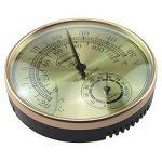 Thermomètre hygromètre Cadran Doré Serre de jardin Bureau à domicile–Mesure Température et Humididty de la marque Brannan image 1 produit