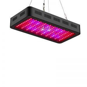 TOPLANET Dimmable 300w Lampe pour Plante Culture Spectre complet LED Grow Light UV&IR Lampe de Croissance pour Indoor Grow Box/Hydroponique Plante Semis de la marque TOPLANET image 0 produit