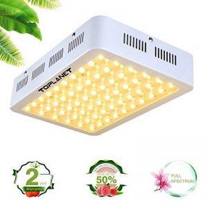 Toplanet Lampe de Croissance 300w Lampe pour Plante Led Grow Light 5W Chip Full Spectrum Led pour Serre Grow Box Légume Fleur Croissance de la marque TOPLANET image 0 produit