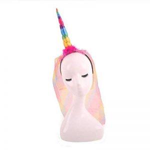 Toyvian Enfants Licorne Corne Mignon Bandeau pour la Décoration de Fête ou Cosplay Costume Fête D'anniversaire Cosplay de la marque Toyvian image 0 produit