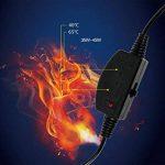 TRNMC Tapis, Coussin de siège de Voiture Chauffant - Tapis Chauffant Confort Haute température de Voiture 12V, Coussin de siège Auto de la marque TRNMC image 3 produit