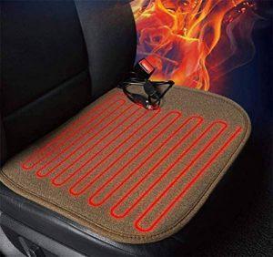 TRNMC Tapis, Coussin de siège de Voiture Chauffant - Tapis Chauffant Confort Haute température de Voiture 12V, Coussin de siège Auto de la marque TRNMC image 0 produit
