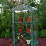 UPP® Plante Serre avec roulettes/serre/Mobile à semis/maison/tomate maison/Film Serre Plante/serre/étagère de la marque UPP image 1 produit