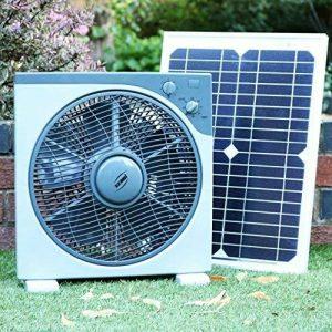 Ventilateur solaire 12V avec panneau de 20W - Kit de ventilateur solaire DC DC pour camping, caravane, voiture, bateau, hangar, serre par PK Green de la marque PK Green image 0 produit