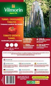 Vilmorin VA04130 Serre-Tunnel de Croissance pour Tomates 60 g/m² 220 x 60 x 400 cm de la marque Vilmorin image 0 produit