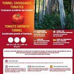 Vilmorin VA04130 Serre-Tunnel de Croissance pour Tomates 60 g/m² 220 x 60 x 400 cm de la marque Vilmorin image 1 produit