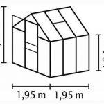 Vitavia venus 3800 de sécurité trempé 3 mm 3,8 m² en aluminium de la marque Pergart image 1 produit