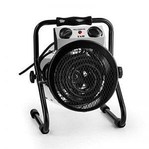 Waldbeck Strato Radiateur Chauffage électrique soufflant (idéal pour votre jardin, max. 2000W, ventilation - ventilation & chauffage, débit de 210m³/h) de la marque Waldbeck image 0 produit