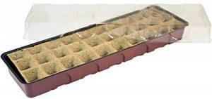 Windhager Serre d'intérieur, serre de Rebord de fenêtre avec 30pots de semis, Terracotta/anthracite, 16,5x 54,4x 12cm, 06840 de la marque Windhager image 0 produit
