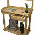 Woodside Wooden Potting/Planting Bench/Table Workshop Work DIY Station by Woodside de la marque Woodside image 1 produit
