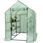 Yongtaifeng Serre de Jardin Chaude Maison Tente de Plante Serre pour tomates 143x143x195cm 6 Étages en Vert Transparent de la marque Yongtaifeng image 0 produit