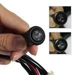 Yorbay 2Set siège auto chauffage carbone 4x Tapis chauffant Kit d'enregistrement de sans universel avec 2Niveaux Ronde Interrupteur de la marque Yorbay image 3 produit