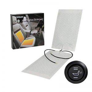 Yorbay 2 x Chauffage de voiture 12 V tapis chauffant, convient pour toutes les voitures de la marque Yorbay image 0 produit