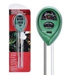 Zedela 3 en 1 Testeur de sol Solide,Humidite PH et Lumiere pour Jardin Bonsai Plantation-002 de la marque zedela image 1 produit
