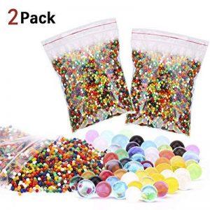 Zesgood 2paquets de 30000x cristaux de perles d'eau aux couleurs mélangées de la marque ZesGood image 0 produit