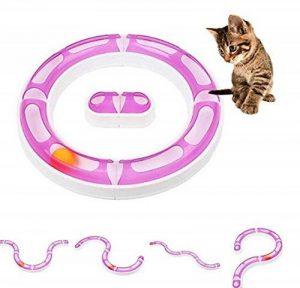 ZHJZ Jouet interactif Cat Pet Orbit Jouet Balle Réglable DIY Variable Orbites pour Animal Domestique Chat Chien de la marque ZHJZ image 0 produit